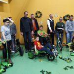 Journée en faveur des handicapés – Remise des chèques